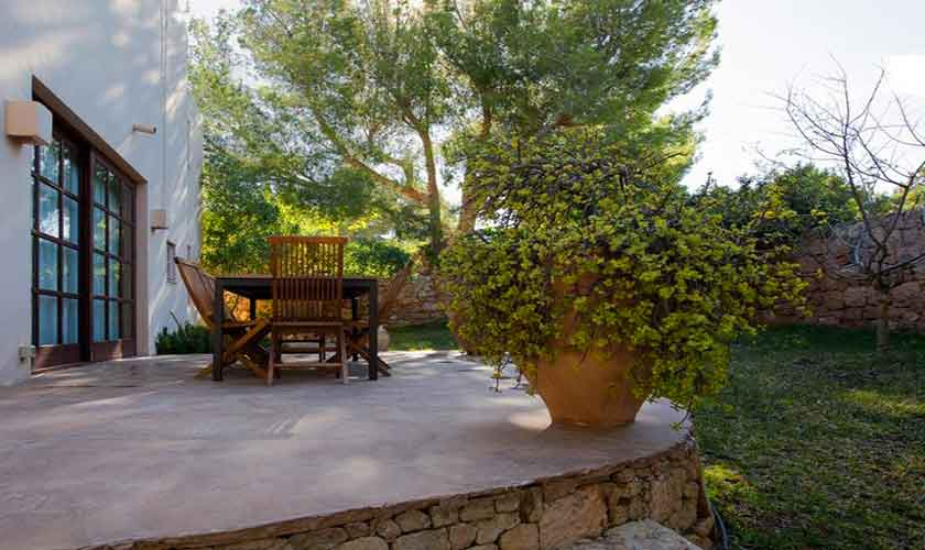Terrasse Ferienhaus Ibiza IBZ 62