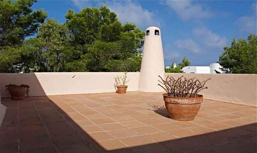 Dachterrasse Ferienhaus Ibiza IBZ 62