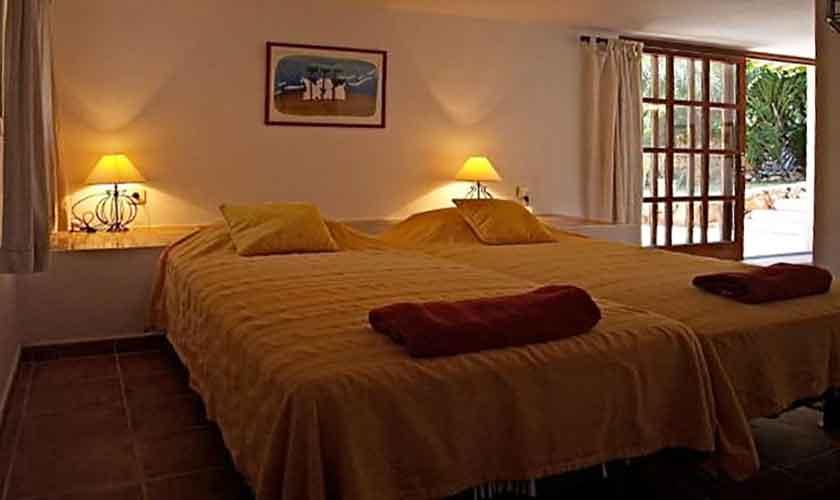 Schlafzimmer Ferienhaus Ibiza IBZ 62