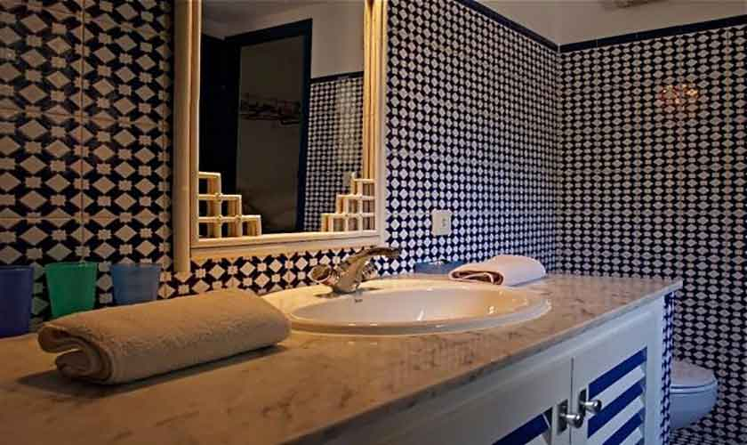 Badezimmer Ferienhaus Ibiza IBZ 62