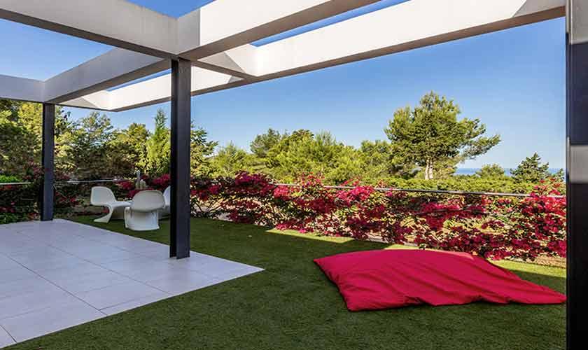 Terrasse Villa Tarida 10 Personen IBZ 70