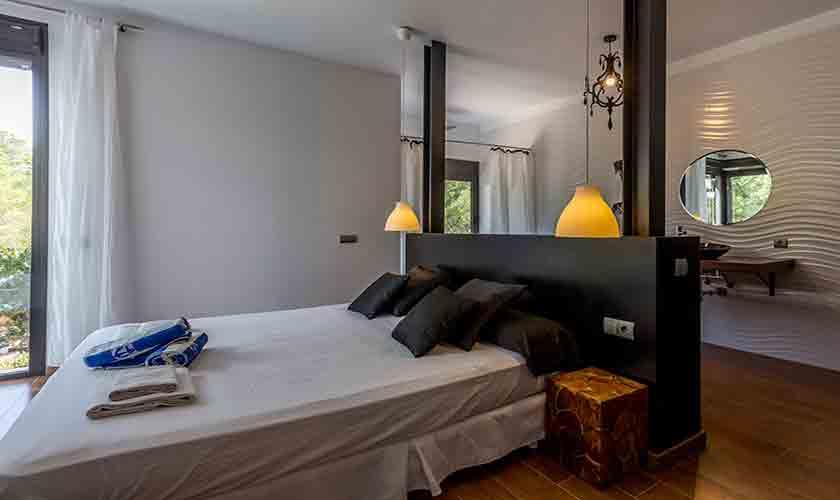 Schlafzimmer Villa Tarida 10 Personen IBZ 70