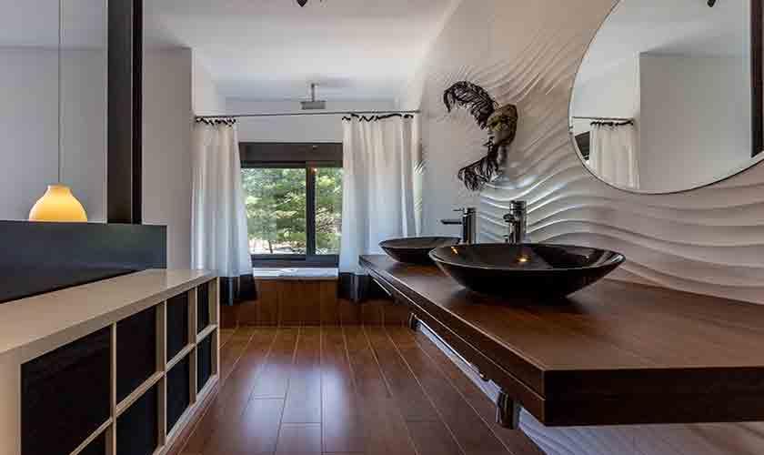 Badezimmer Villa Tarida 10 Personen IBZ 70