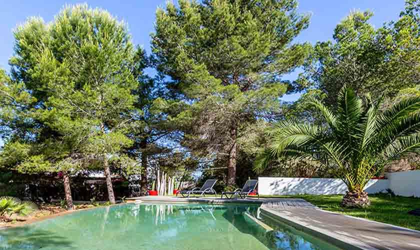 Poolblick Villa Tarida 10 Personen IBZ 70