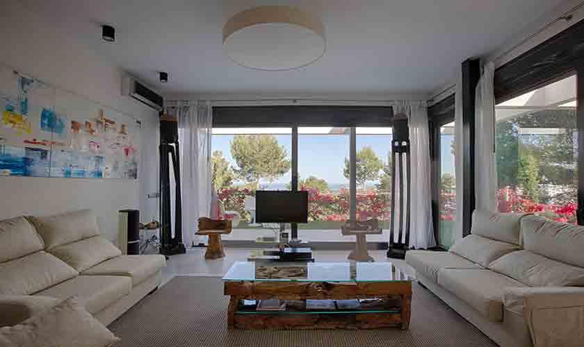 Wohnraum Villa Tarida 10 Personen IBZ 70