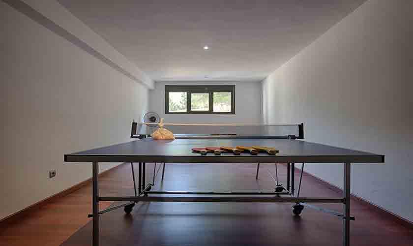 Tischtennis Villa Tarida 10 Personen IBZ 70