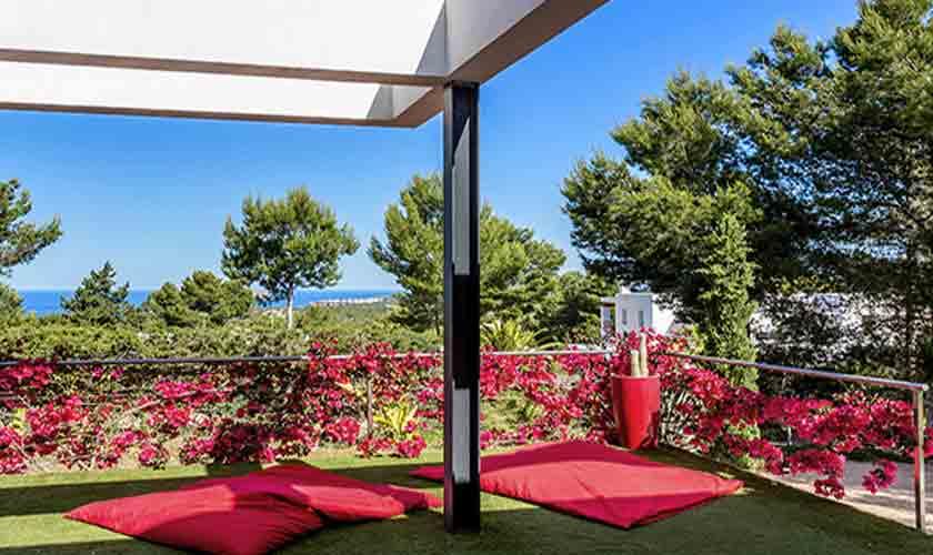 Garten Terrasse Villa Tarida 10 Personen IBZ 70