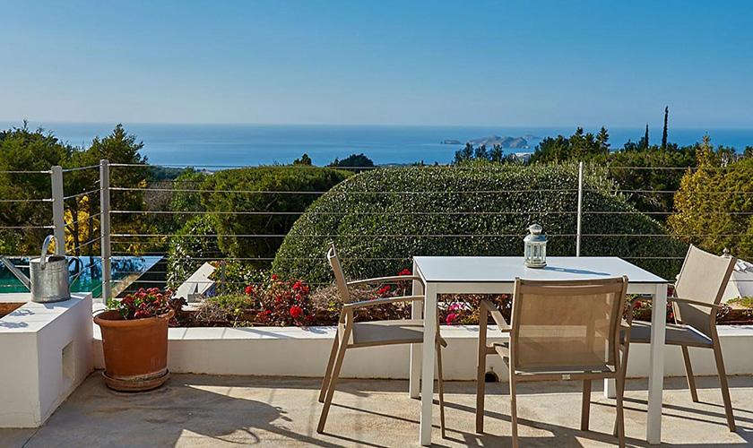 Terrasse Villa Ibiza IBZ 72
