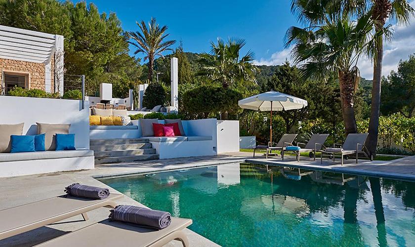 Pool und Terrassen Villa Ibiza IBZ 72