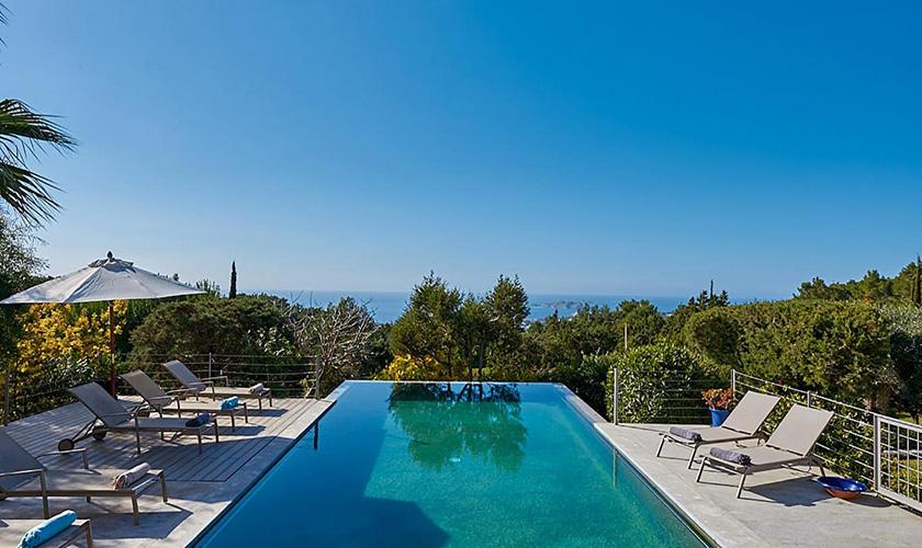 Pool und Meerblick Villa Ibiza IBZ 72