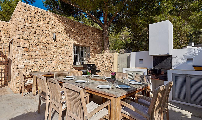 Grillplatz Villa Ibiza IBZ 72
