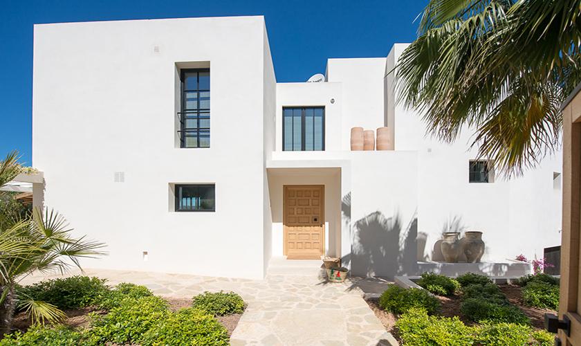 Blick auf die Ferienvilla Ibiza für 10 Personen IBZ 77
