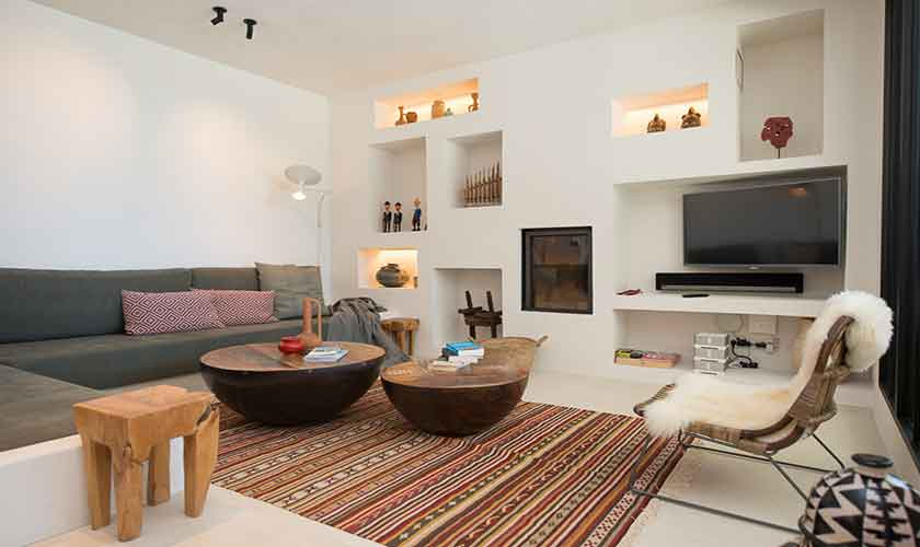 Wohnraum Ferienvilla Ibiza für 10 Personen IBZ 77