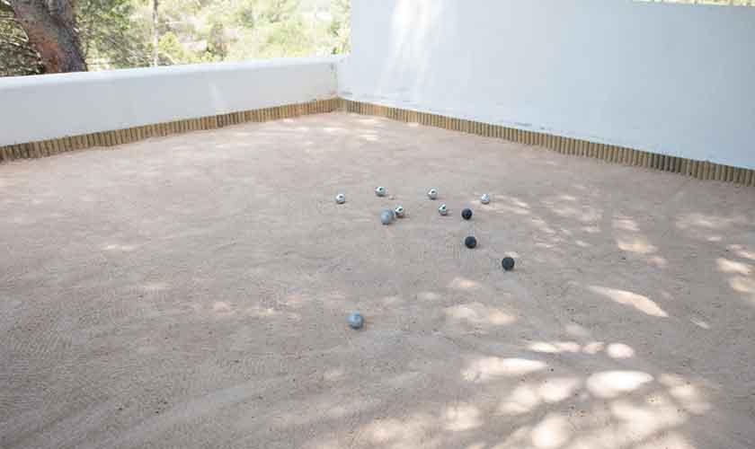 Bouleplatz Ferienvilla Ibiza für 10 Personen IBZ 77