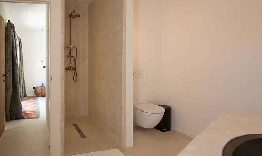 Bad en suite Schlafzimmer Ferienvilla Ibiza für 10 Personen IBZ 77