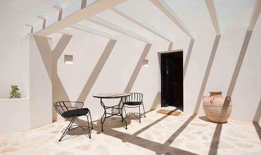 Dachterrasse Ferienvilla Ibiza für 10 Personen IBZ 77
