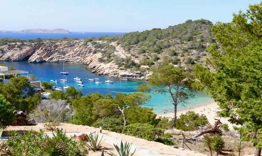 Strand- und Meerblick Ferienvilla Ibiza IBZ 81