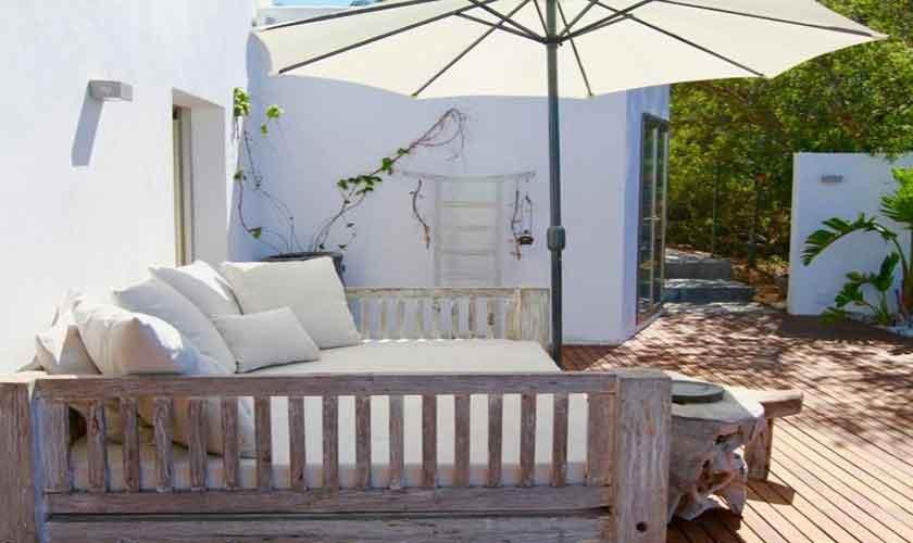 Terrasse Ferienvilla Ibiza IBZ 81