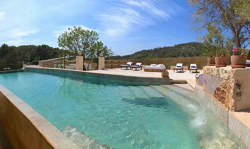 Pool Finca Ibiza 10 Personen IBZ 82