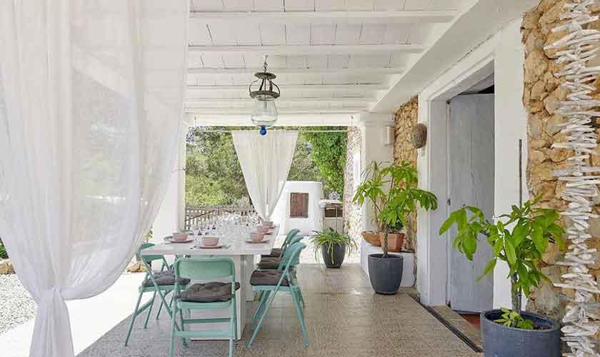 Terrasse Ferienvilla Ibiza IBZ 86