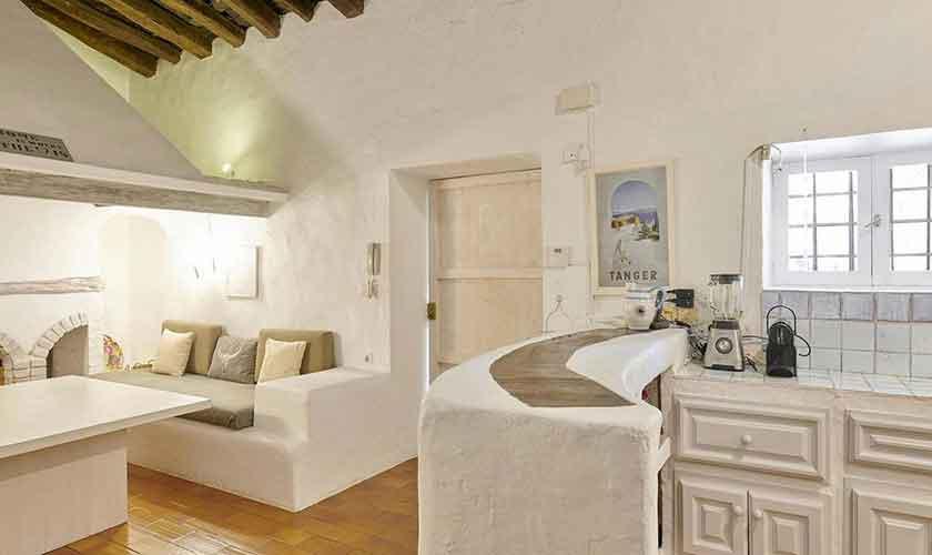 Wohnraum Ferienvilla Ibiza IBZ 86