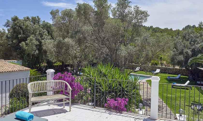 Garten Ferienvilla Ibiza IBZ 86