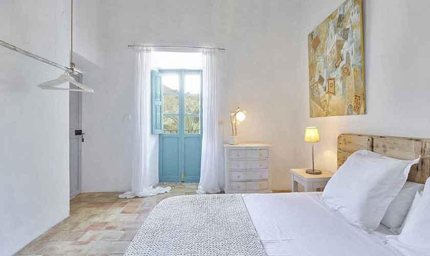 Schlafzimmer Ferienvilla Ibiza IBZ 86