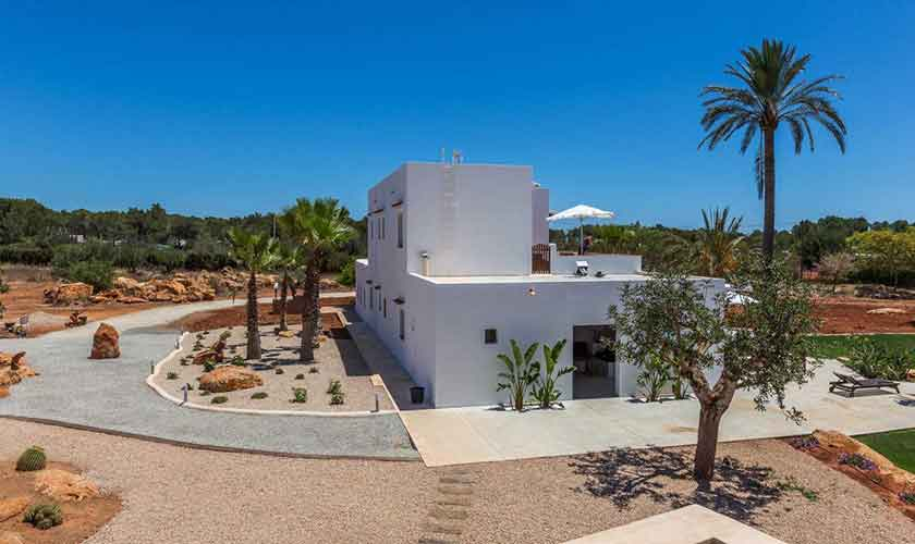 Blick auf die  Finca Ibiza IBZ 88