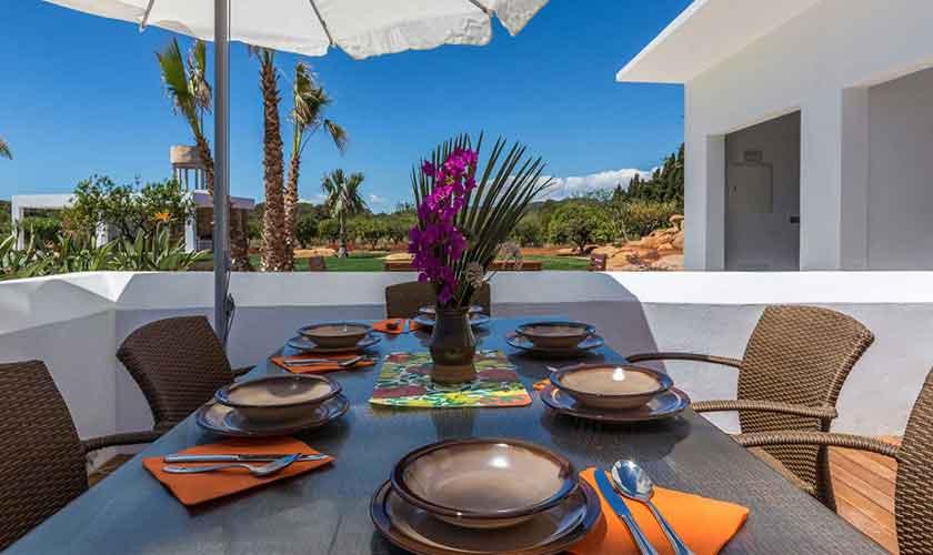 Terrasse und Pool Finca Ibiza IBZ 88