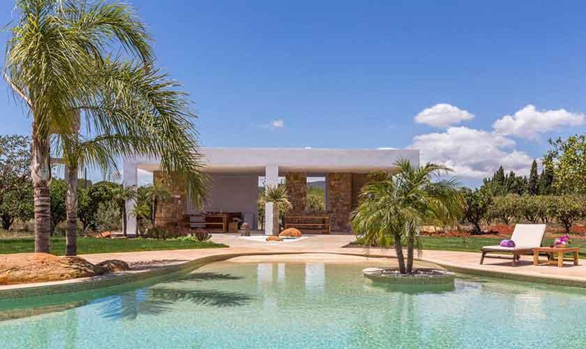 Pool und Poolhaus Finca Ibiza IBZ 88
