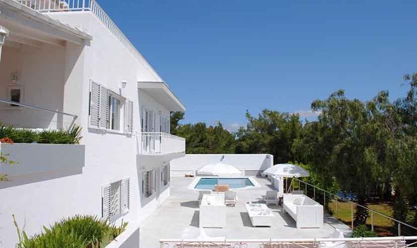 Pool und Terrasse Ferienvilla Ibiza Ibz 88