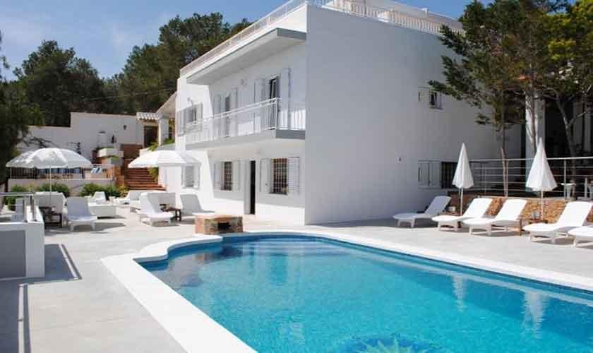 Pool und Villa Ibiza Ibz 88