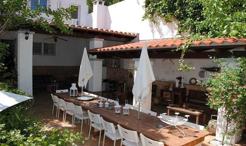 Esstisch Terrasse Ferienvilla Ibiza Ibz 88