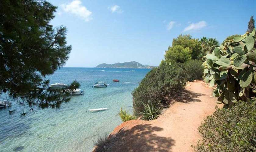 Küste Ferienvilla Ibiza IBZ 89