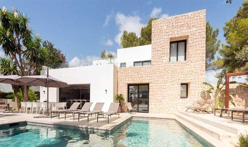 Pool und Ferienvilla Ibiza IBZ 89