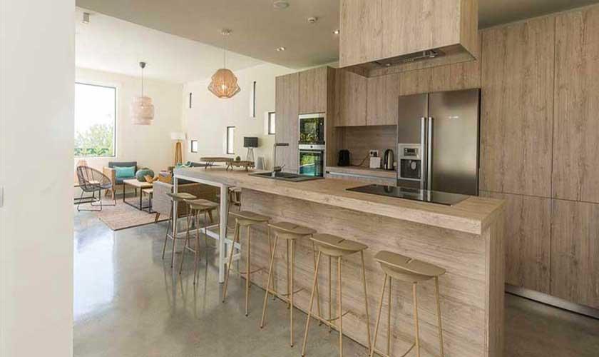 Küche Villa am Strand Ibiza IBZ 90