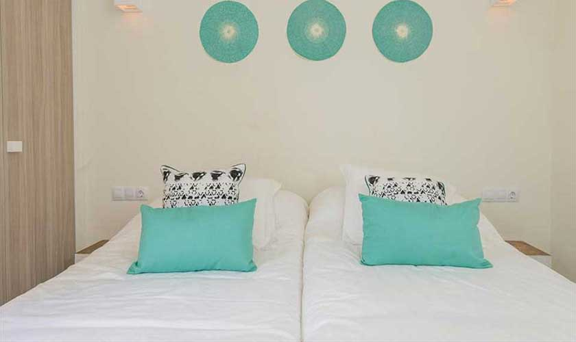 Schlafzimmer Villa am Strand Ibiza IBZ 90