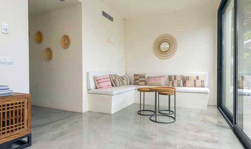 Wohnraum Villa am Strand Ibiza IBZ 90