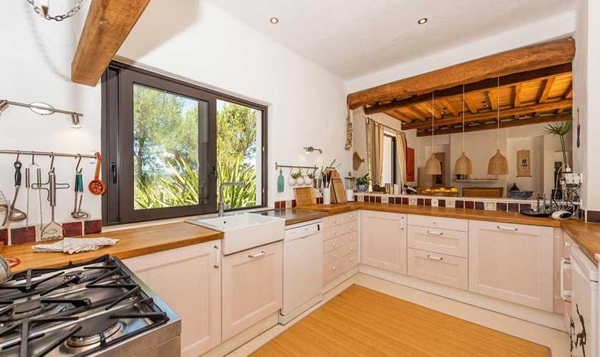 Küche Finca Ibiza IBZ 92