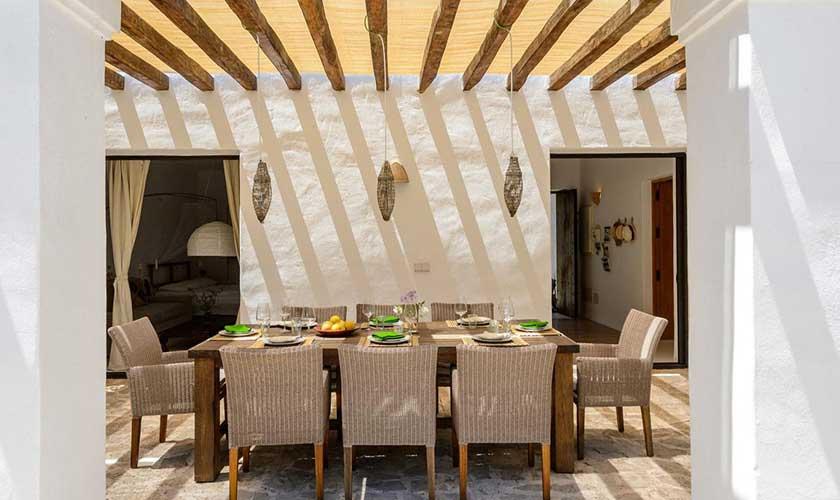 Esstisch Terrasse Finca Ibiza IBZ 92