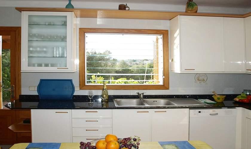 Küche Ferienhaus Mallorca PM 6585