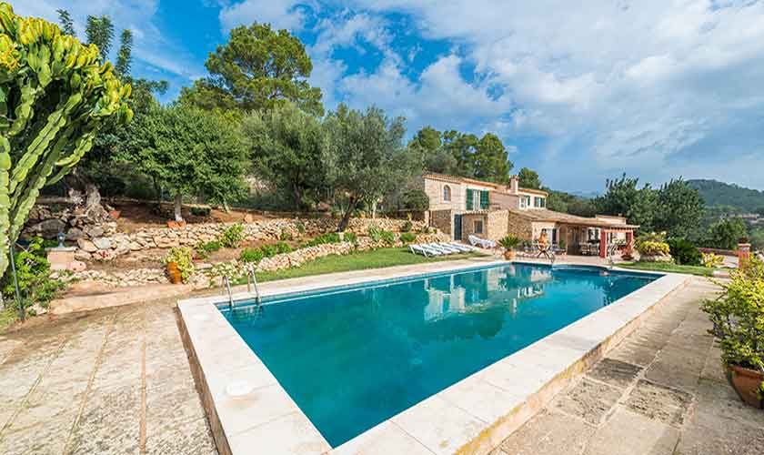 Pool und Finca Mallorca Südwesten PM 104