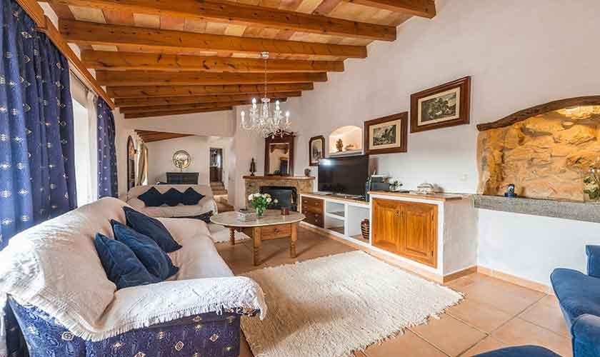 Wohnraum Finca Mallorca Südwesten PM 104
