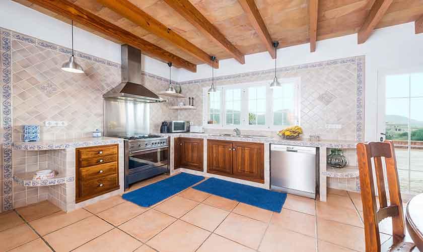 Küche Finca Mallorca Südwesten PM 104
