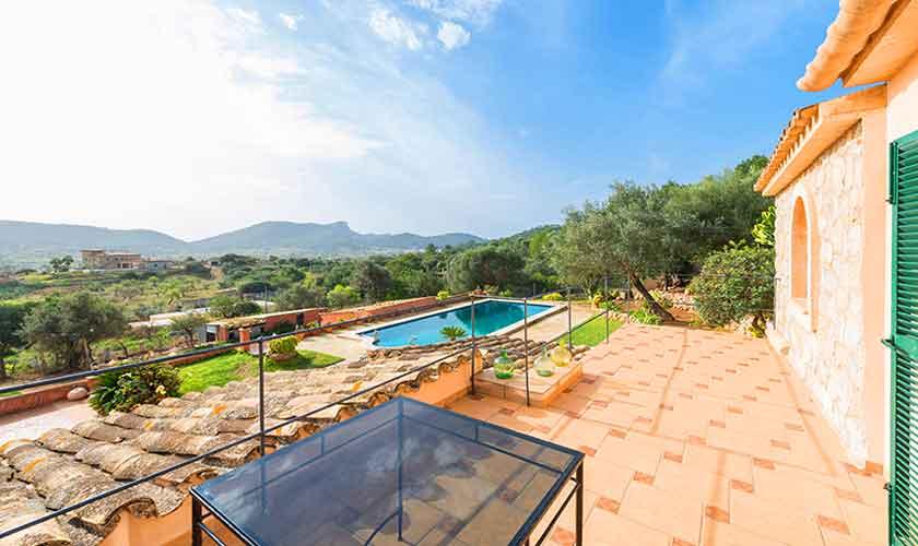 Terrasse Finca Mallorca Südwesten PM 104