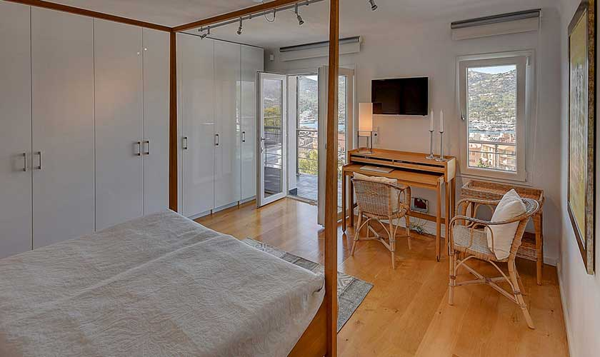 Schlafzimmer Luxusvilla Mallorca Port Andratx PM 110
