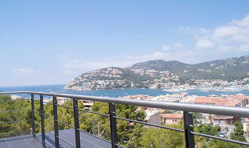 Blick Luxusvilla Mallorca Port Andratx PM 110