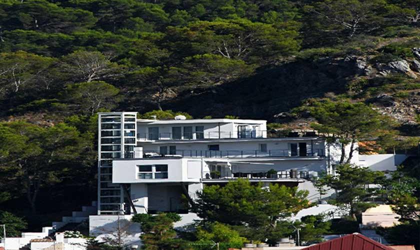 Blick auf die Luxusvilla Mallorca Port Andratx PM 110