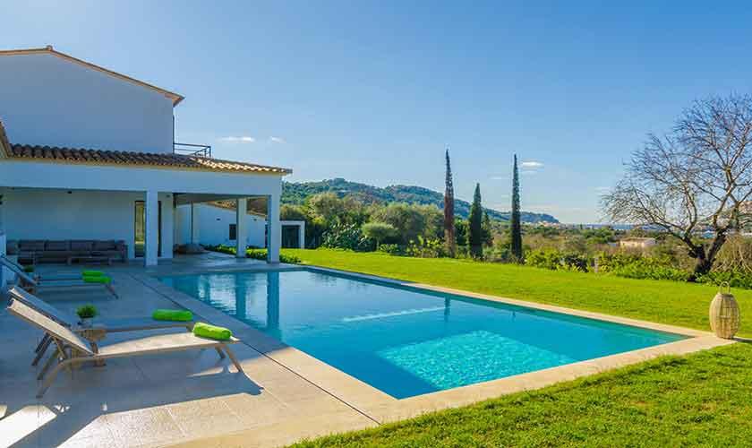 Pool und Ferienvilla Mallorca 12 Personen PM 115