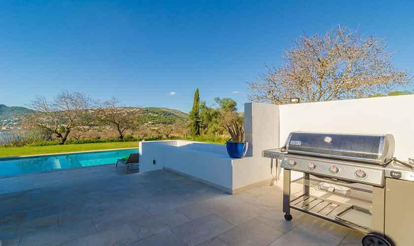 Grillplatz Ferienvilla Mallorca 12 Personen PM 115
